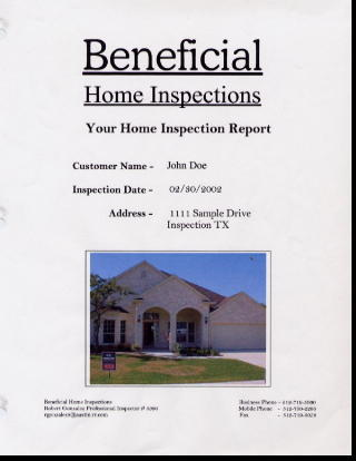 Beneficial Home Inspections